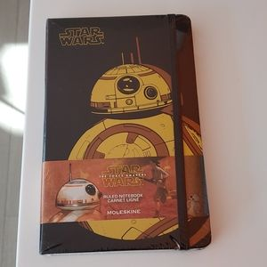 NWT STAR WARS MOLESKINE NOTEBOOK